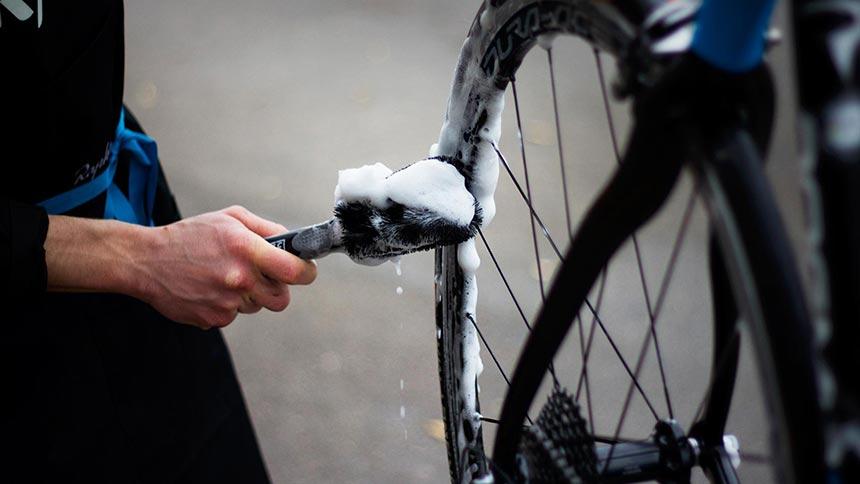Уход за велосипедом. Чистка