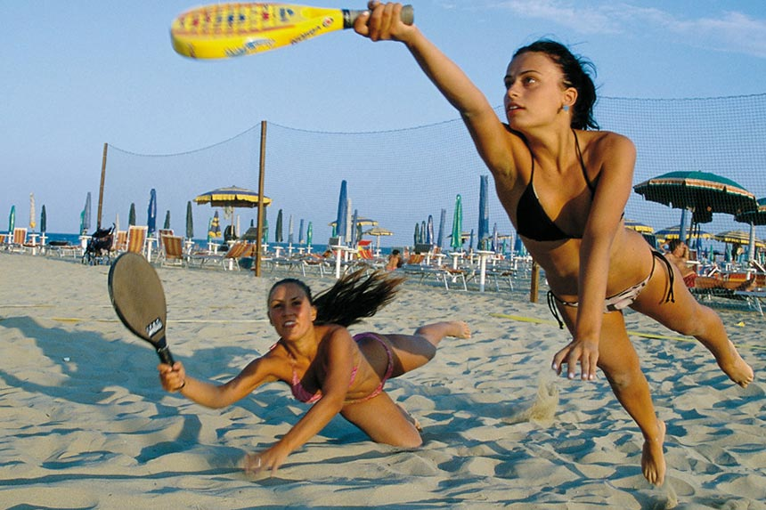 Пляжный теннис