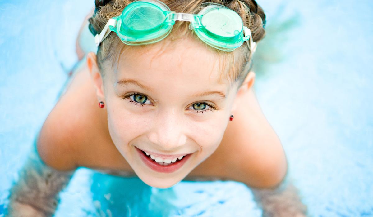 Обучение плаванью детей