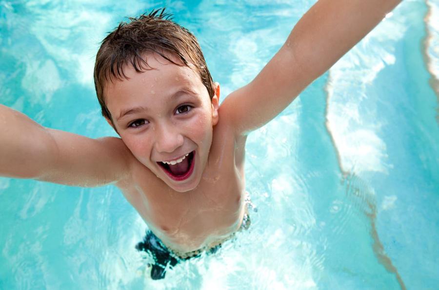 Наличие детской группы в бассейне