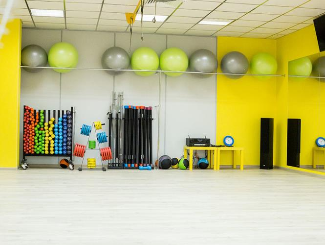 Новый фитнес зал