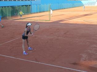 Открытые теннисные корты
