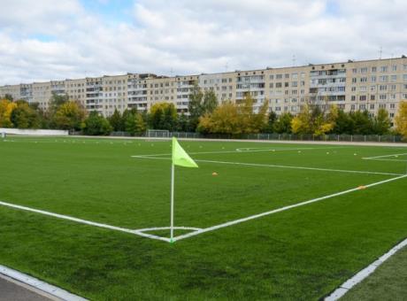 Стандартное футбольное поле