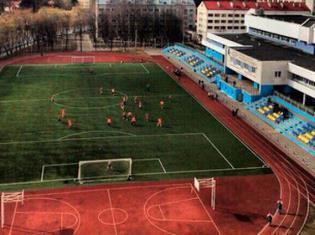 Открытое футбольное поле