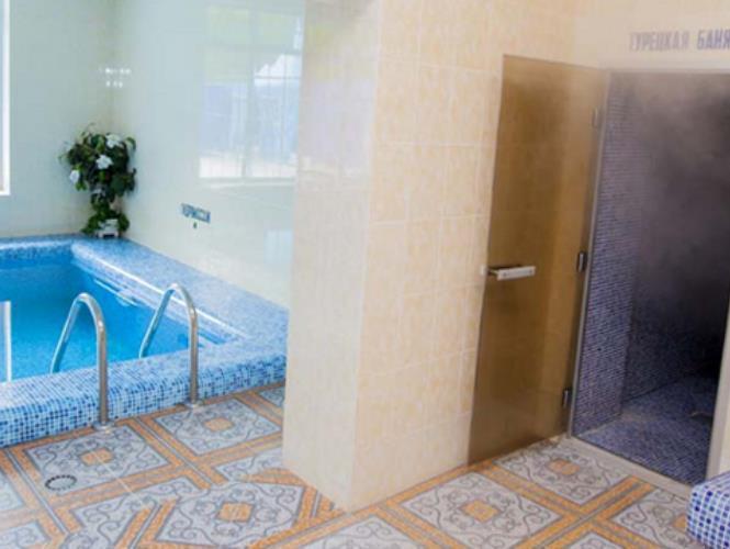 Турецкий хамам и крытый бассейн