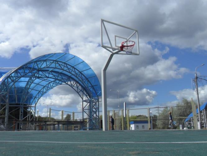 Открытая площадка для волейбола