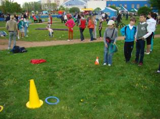 Участок парка экстремальных видов спорта