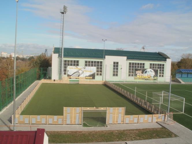 Открытая площадка для мини-футбола с искусственным покрытием
