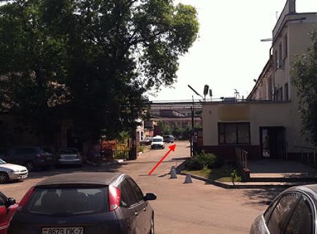 Проходная Минского инструментального завода