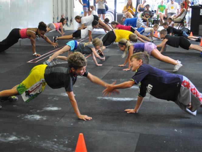 Детский функциональный тренинг
