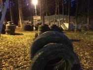 Тактическая площадка в темное время суток