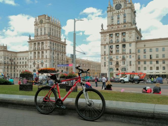 Велосипед у ж/д вокзала