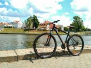 Велосипед у р. Свислочь