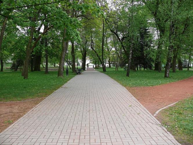 Велотрек в парке им. М. Горького